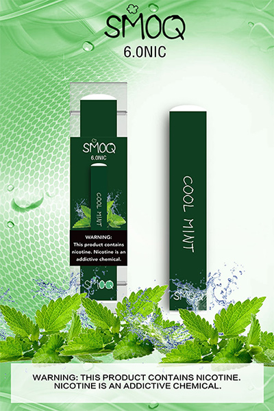 SMOQ DISPOSABLE COOLMINT-AMERICAN-DISTRIBUTORS-LLC